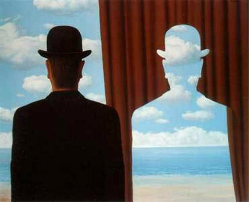 Rene Magritte, Decalcomania