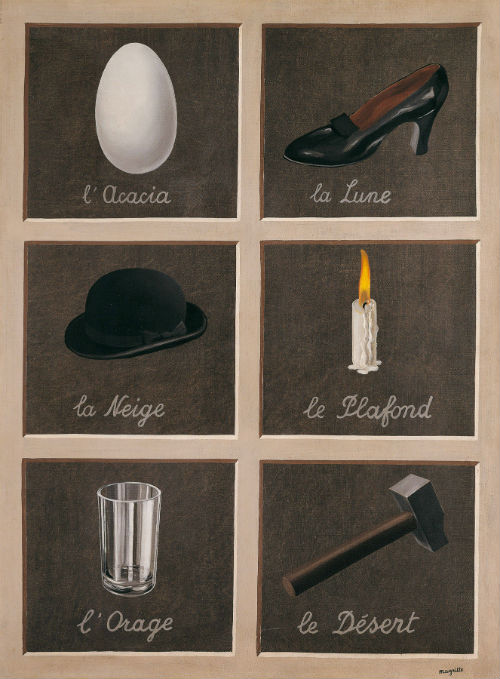 Rene Magritte, Key of Dreams