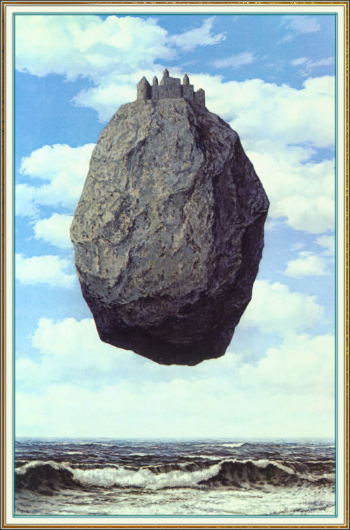 Rene Magritte, The Castle of the Pyrenees