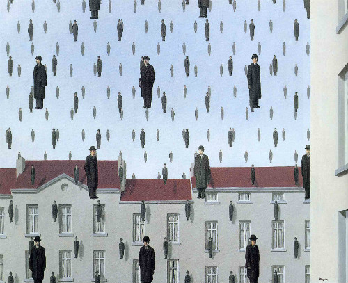 Rene Magritte, Golconda