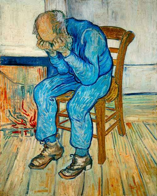 Vincent Van Gogh, Acı İçindeki Adam