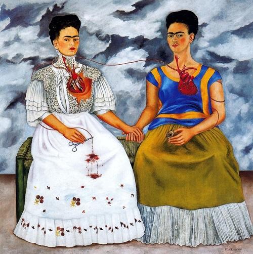 Frida Kahlo, İki Frida