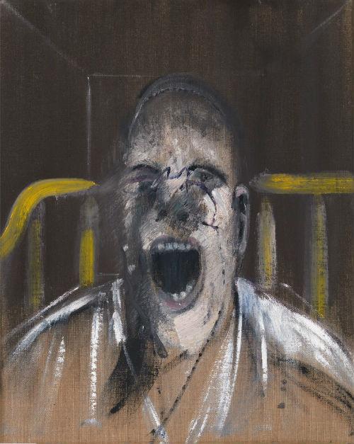 Francis Bacon, Çığlık Atan Papa Başı için Etüd