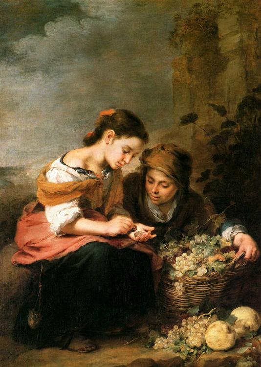 The Little Fruit-Seller