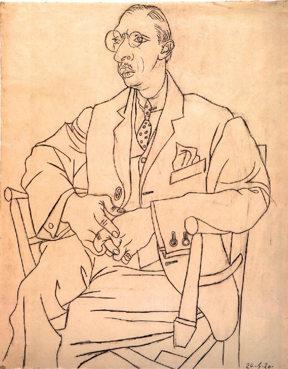 Portrait of Igor Stravinsky