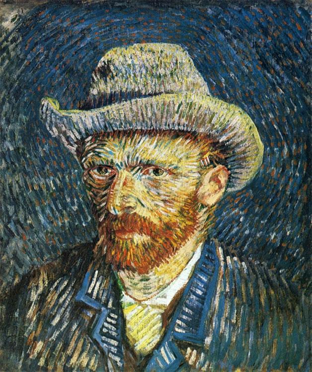 Self Portrait in a Felt Hat