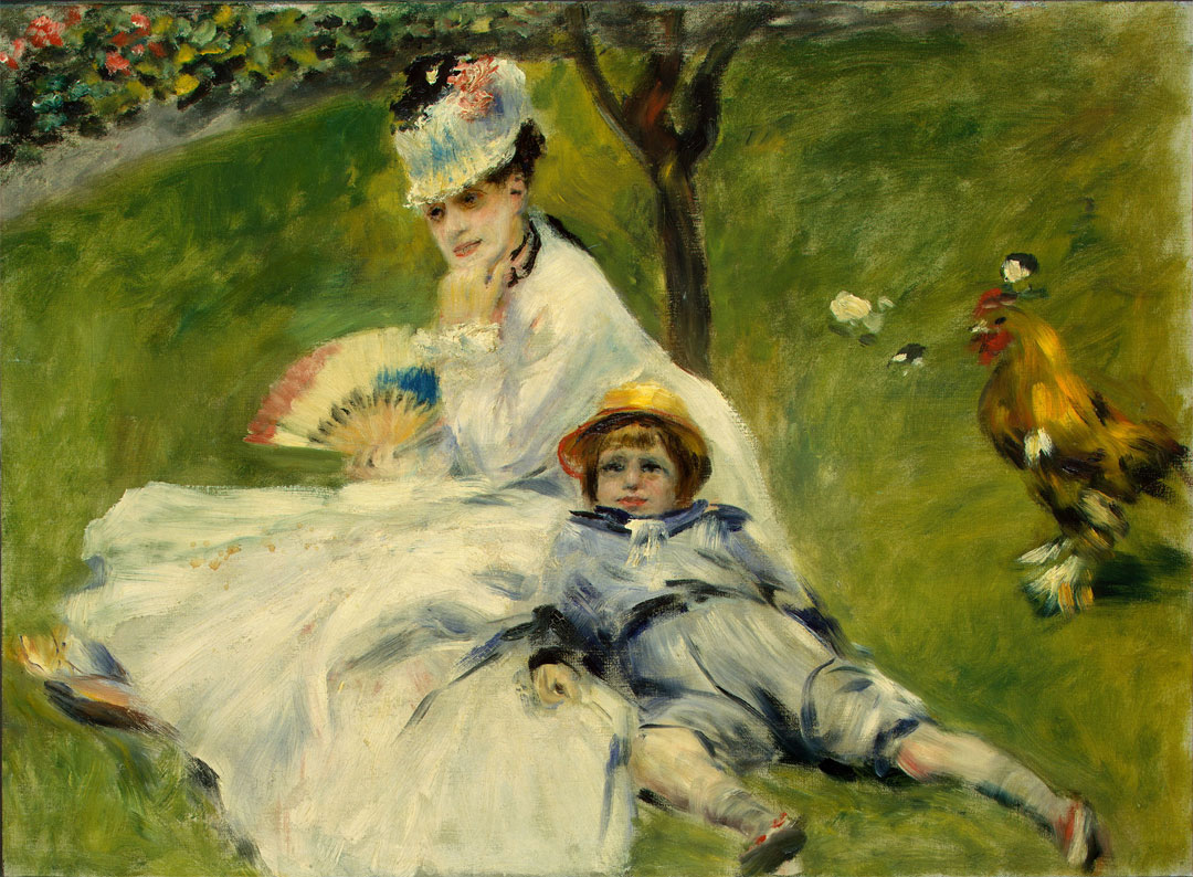 Madame Monet with Her Son