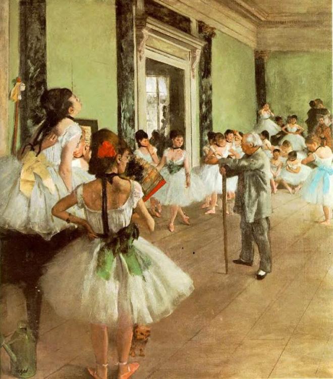 La classe de danse