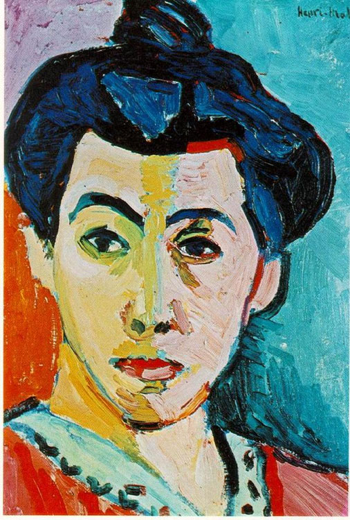 Green Stripe (Madame Matisse)