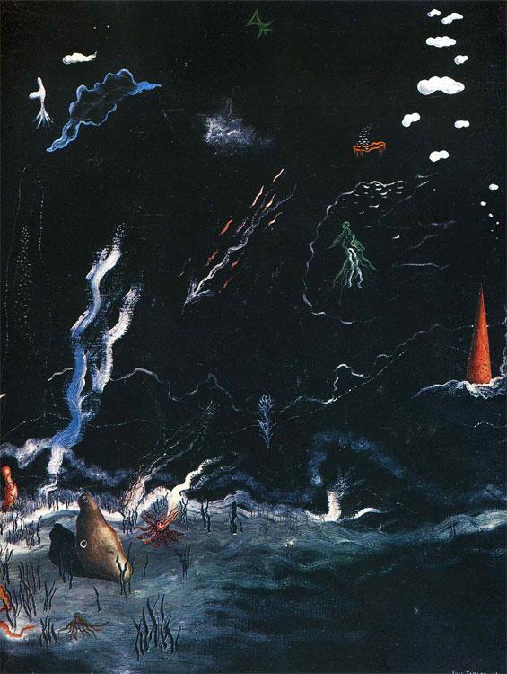 Storm (Black Landscape). L Orage (Paysage noir)