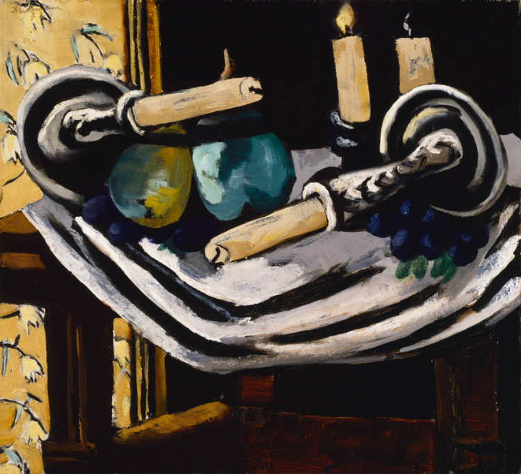Still Life with Fallen Candles