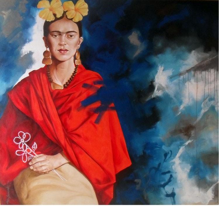 Retrato de una artista