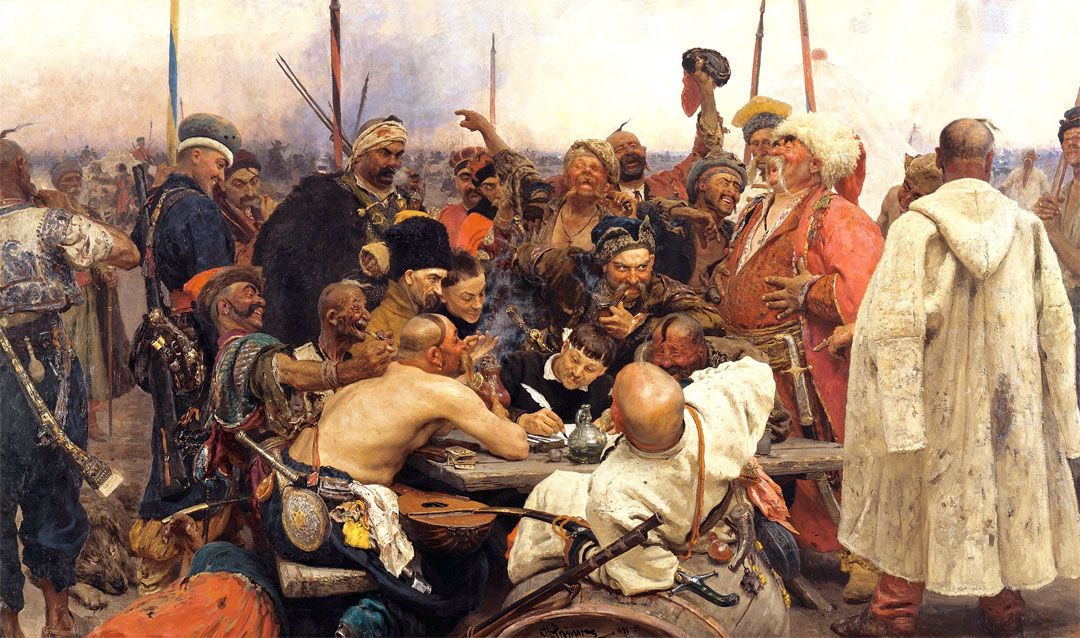 Reply of the Zaporozhian Cossacks to Sultan Mehmed IV of Turkey