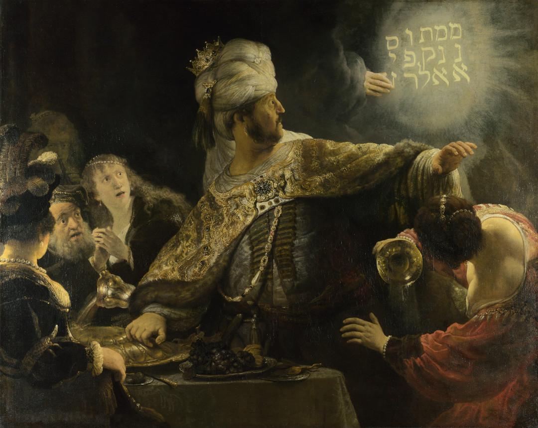 Belshazzar's Feast.