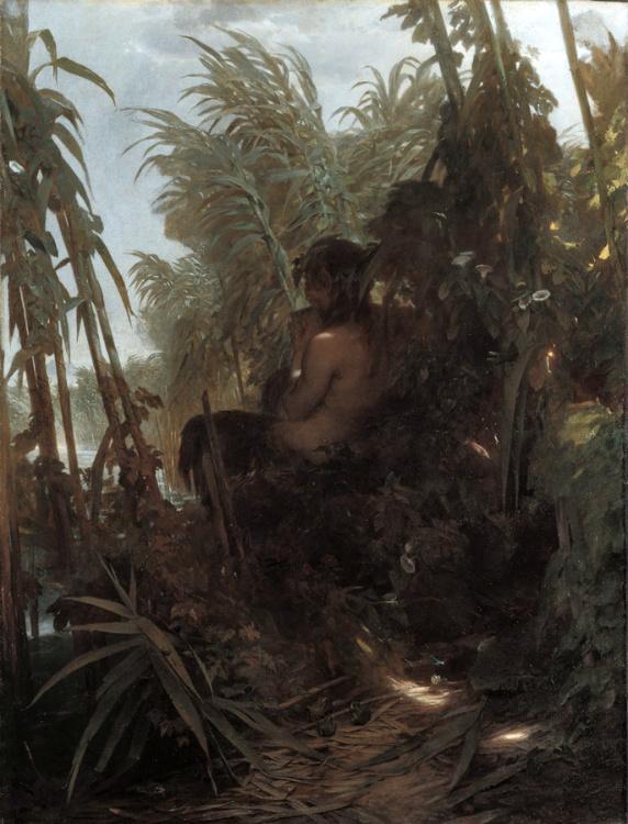 Pan Among the Reeds