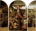 Triptych of the crucified Martyr