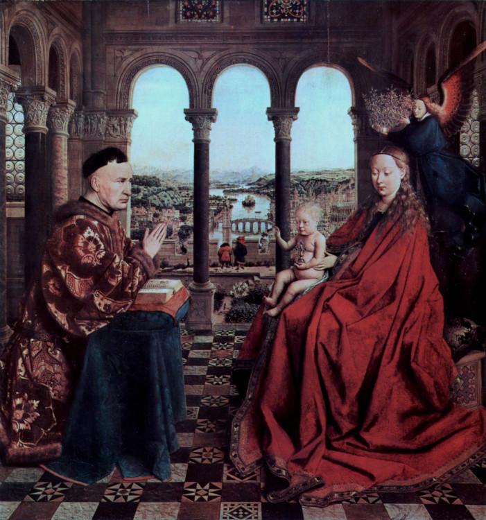 Virgin of Chancellor Rolin
