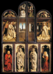 Left panel from the Ghent Altarpiece