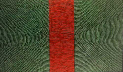 Kırmızılı kompozisyon II