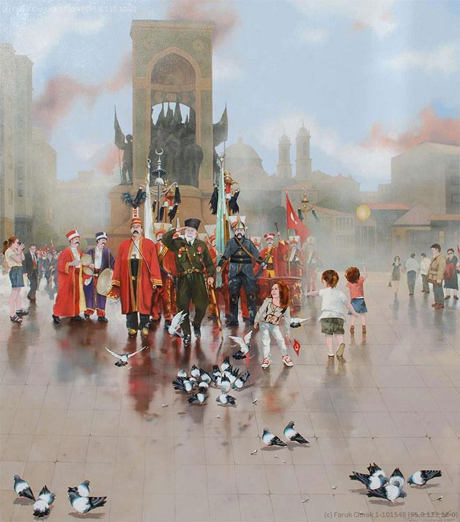 Taksim Meydanı - Mehter